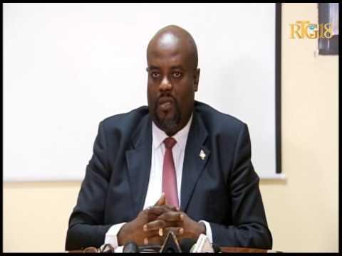 L'intervention du Directeur général du ministère des Affaires sociales, Rudy Hérivaux,