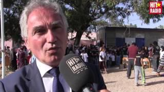 Reportage réhabilitation de l'école « Laâyoun » à Essaouira avec Renault sur HIT RADIO
