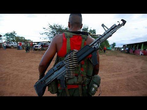 Κολομβία: Αποχαιρετισμός στα όπλα