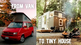 VANLIFE UPGRADE: Why They Chose a TINY HOUSE Instead of an RV or Paying Rent by Nate Murphy