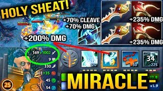 Video Miracle- is going CRAZY with Kunkka Splash DAMAGES Dota 2 MP3, 3GP, MP4, WEBM, AVI, FLV Juni 2018