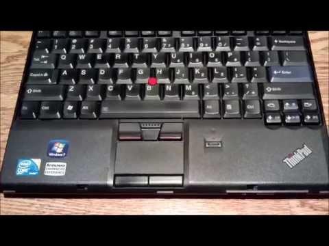 Lenovo Thinkpad X201: SSD Upgrade