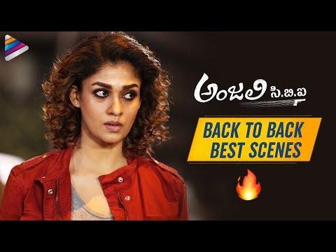 Anjali CBI Back To Back Best Scenes | Nayanthara | Vijay Sethupathi | 2019 Latest Telugu Movies