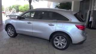 2014 Acura MDX Drive Around Miami Beach