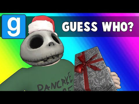 Gmod Guess Who Funny Moments - Stomping On The Nogla Bug! (garry's Mod Christmas)