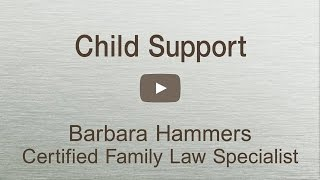 CA Child Support facts you must know