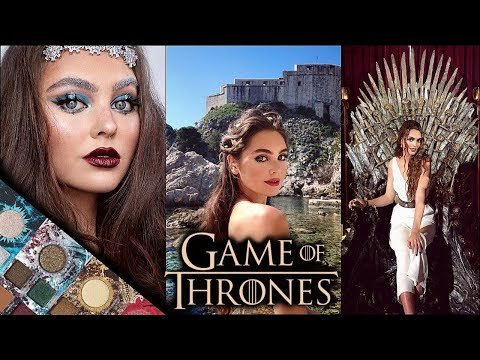 urban decay x game of thrones collection | 4 GoT looks + swatches