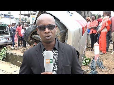 Le Flash Spécial Inondation à Abidjan de RTI 1 par Fatou Fofana