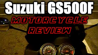 9. Suzuki GS500F Review