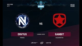 EnVyUs vs Gambit, game 2