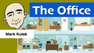 At The Office - at work (functions and what people do there) | English for Communication - ESL