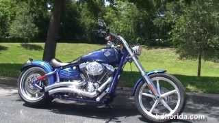 8. Used 2009 Harley Davidson Softail Rocker C Motorcycles for sale
