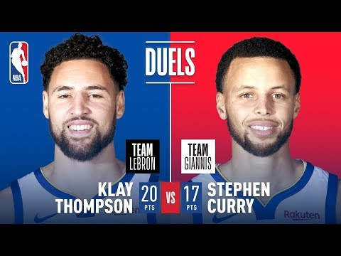 Video: Teammates Turned Opponents; Steph & Klay Duel In Charlotte | 2019 NBA All-Star