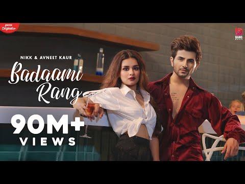Badaami Rang (Official HD Video) Nikk Ft Avneet Kaur   Ikky   Bang Music   Latest Punjabi Songs 2020