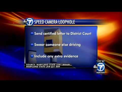 how to pay speed camera tickets in md