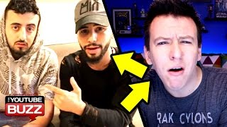 Arabic YouTubers Kicked Off Airplane - Adam Saleh & Slim VS Philip Defrancohttp://theyoutubebuzz.com/site/arabic-youtubers-kicked-off-airplane-adam-saleh-slim-vs-philip-defranco-and-keemstar/Adam Saleh and Slim, have been in the midst of some controversy online over the past month, over an incident resulting in them being kicked off a plane. The whole things started when both Adam Saleh and Slim posted a video to their Twitter then later their YouTube accounts, which they vlogged about being kicked off their flight with Delta Airlines while on their way back from England to New York.Adam Saleh and his friend Slim, gets kicked off a plane because they spoke Arabic? Both Adam Saleh and Slim claim that they were kicked off a plane with Delta Airlines for speaking another language, Arabic, and people said they felt uncomfortable. Philip Defranco reported an alternate side of the story, saying that Adam Saleh and Slim provoked the situation. Slim later vlogged, bashing both Keemstar from DramaAlert, as well as Philip DeFranco, calling them douche bags::: Related Links ::: Slim: https://www.youtube.com/watch?v=duN0mMQ20tc Philip Defranco: https://www.youtube.com/watch?v=OcXdZx_CSyU, Philip Defranco 2: https://www.youtube.com/watch?v=SxeDEUyLCb4 Slim Reation: https://www.youtube.com/watch?v=q_dXGWm0BDs Adam Saleh: https://www.youtube.com/watch?v=43RgvVY_wvQ Keemstar: https://www.youtube.com/watch?v=FgjTp-EK0KE ::: Other Related Links :::Mashable: http://mashable.com/2016/12/22/adam-saleh-slim-albaher-delta-videos/#qvPOm81w.aqFPerez Hilton: http://perezhilton.com/2017-01-05-pewdiepie-youtube-n-word-video-twitter-reaction#.WHIXQS0rLIU New York Times: https://www.nytimes.com/2016/12/21/world/delta-air-lines-adam-saleh.html?_r=0 The Guardian: https://www.theguardian.com/world/2016/dec/21/adam-saleh-delta-flight-arabic Fox News - Insider: http://insider.foxnews.com/2016/12/22/greg-gutfeld-monologue-video-youtube-star-speaking-arabic-delta-airlines-flight ::: Also Watch ::: Vitaly - Why He Did Porn! - Pewdiepie Rant - Keemstar back on DramaAlert - Public Apologyhttps://www.youtube.com/watch?v=XwcS6-RBRucAnorexic YouTuber Eugenia Cooney Banned from YouTube?https://www.youtube.com/watch?v=p_tZ17PfoKoJenna Marbles Survives Deadly Car Crash! https://www.youtube.com/watch?v=VimrzOF_UhM11Year Old Boy Dead, Prank Gone Wrong - Casey Neistat $21,000 Ticket!https://www.youtube.com/watch?v=7M5dX3ISpbI--Music by DJ ViperVexxhttp://www.youtube.com/user/ViperVexX:::FOLLOW and FIND ME HERE:::Facebook: http://tinyurl.com/c4on5yhInstagram: http://www.instagram.com/keseankentonTwitter: http://tinyurl.com/mtvzb32Tumblr: http://tinyurl.com/q85lkwkGoogle+: http://tinyurl.com/kq3y88z