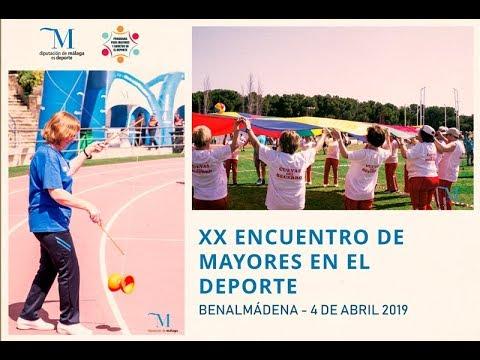 XX Encuentro de Mayores en el Deporte 2019