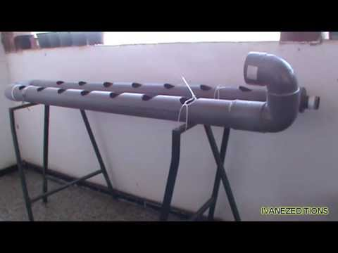 Video como hacer un sistema hidrop nico casero for Como iniciar un vivero en casa