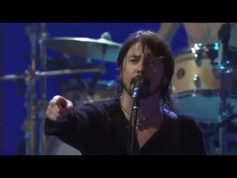 Dave Grohl (Foo Fighters) - pissed because of a