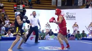 Muslim Salikhov. pure Wushu Sanda by favorite fighter of millions…