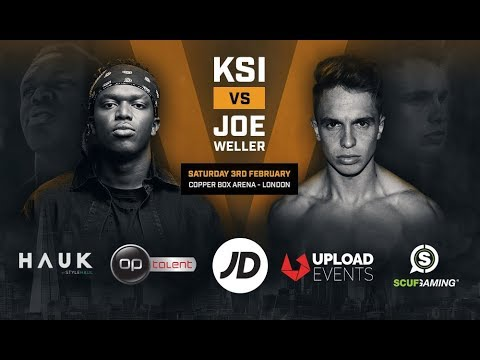 KSI vs Joe Weller – Copper Box Arena February 3rd 2018
