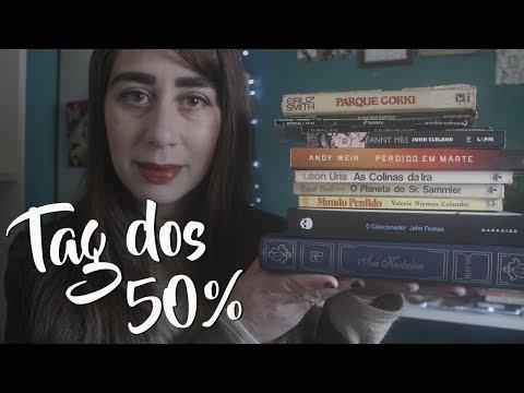 TAG dos 50% - as leituras do 1º semestre de 2018!