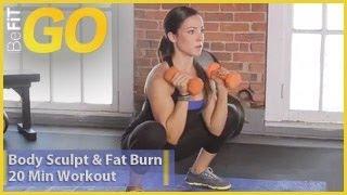 BeFiT GO: Body Sculpt & Fat Burn 20 Minute Circuit Training Workout
