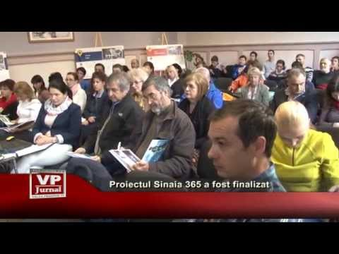 Proiectul Sinaia 365 a fost finalizat