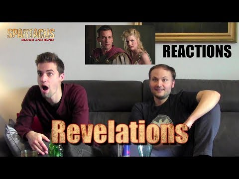 "Spartacus : Blood and Sand 1x12 ""Revelations"" REACTIONS"