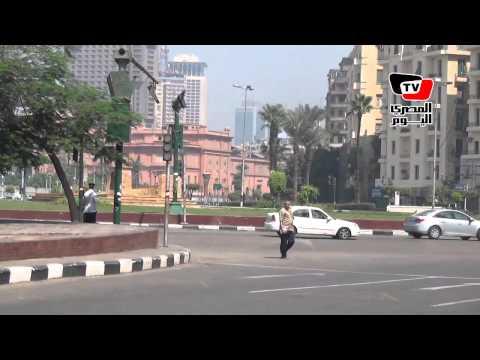 أجواء ميدان التحرير قبل مظاهرات الإخوان