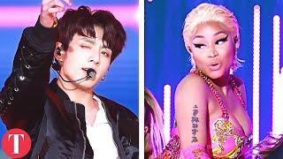 Video 10 BTS Collaborations You Don't Want To Miss (Nicki Minaj, Steve Aoki, Chainsmokers) MP3, 3GP, MP4, WEBM, AVI, FLV November 2018