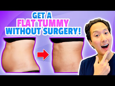 A Plastic Surgeon's SECRETS To Getting a FLAT TUMMY Without Surgery!