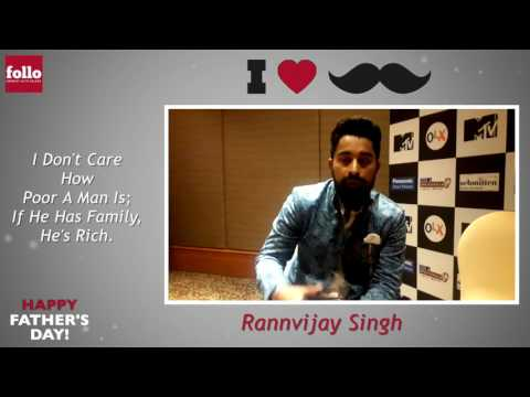 Rannvijay Singh Wishes Happy Father's Day