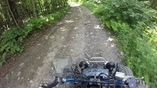 3. Banshee trail riding
