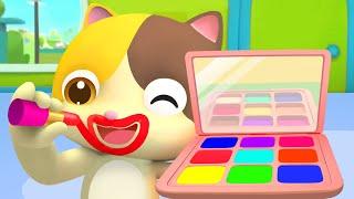 Vamos a Maquillar a Papá | Canciones Infantiles | Colores Para Niños | BabyBus Español