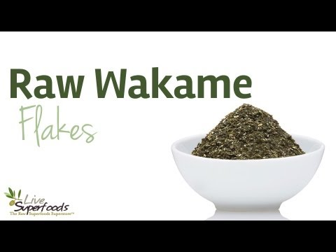All About Raw Wakame Flakes - LiveSuperFoods.com