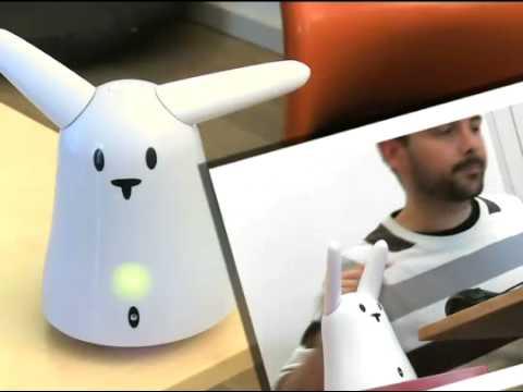 Karotz Roboter Kaninchen