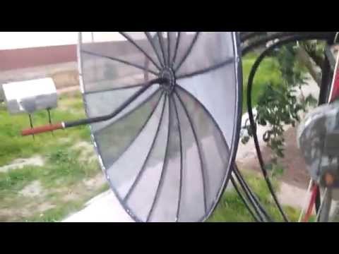 1.9m Mesh Dish With 1296Mhz Horn