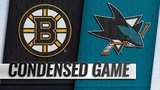 02/18/19 Condensed Game: Bruins @ Sharks by NHL
