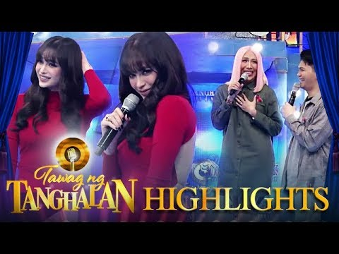 Arci leaves Vice in awe with her sexy back | Tawag ng Tanghalan