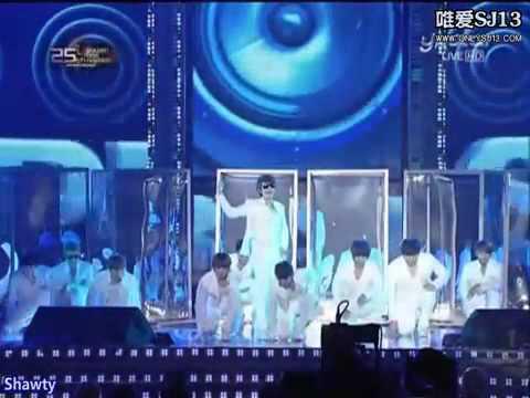 101209金唱片Super Junior 獲獎+表演 [中字]