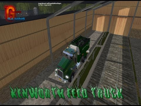 KENWORTH FEED TRUCK FS17 v1.0