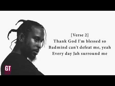 Video Popcaan - Silence (Lyrics Video) 🎤