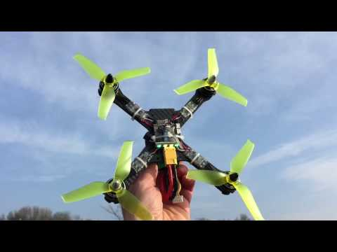 Flight Test with X210 and Racerstar 5042 props