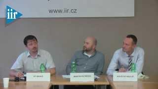 Prezentace policy paperu Víta Beneše: Státní bankrot nepovede k jeho odchodu z eurozóny