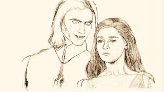 Speed painting. Drawing Daenerys and Viserys Targaryen - Game of Thrones Theme. I'm use Samsung Galaxy Note 2014 and ...