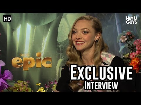 heyuguysblog - Damen Norton from HeyUGuys interviews Amanda Seyfried for her role in animated movie Epic. Amanda also discusses working with Seth Macfarlane in A Million Wa...