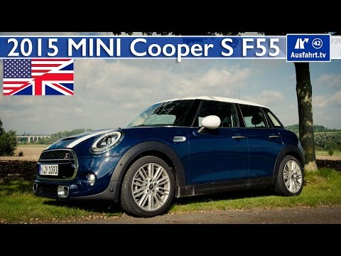 2015 MINI Cooper S (F55) - Test, Test Drive and In-Depth Review (English) (видео)