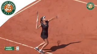 Shots of day 2015 French Open - Day 12