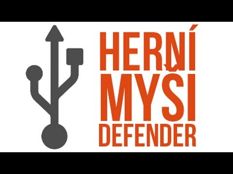 Recenze Herních Myší Defender Warhead GM-1100, GM-1110 a GM-1310